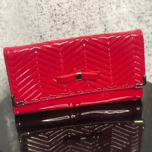 Red Party Clutch/Crossbody